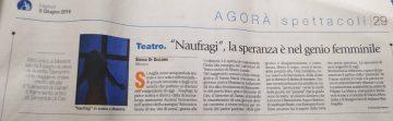 NAUFRAGIO - AVVENIRE Rec S. Di Giacomo