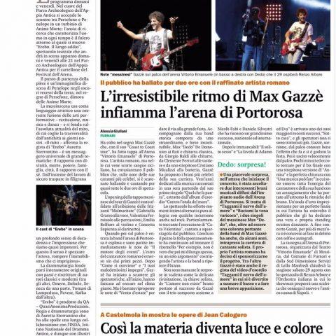 EREBO - Gazzetta del Sud 19.08.15