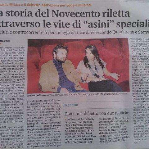 ASINI - Gazzetta del sud 21 Agosto p. 21 Bonardelli