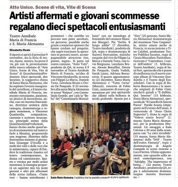 AU 14 15 - WA - Gazzetta del Sud ed. Messina 25_10_2014